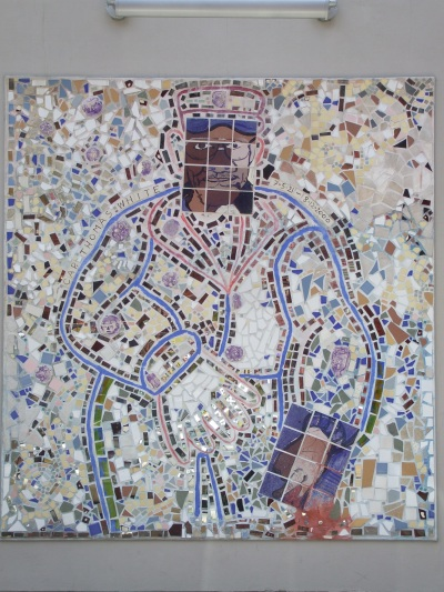 Isaiah Zagar's incredible mosaic art makes some of the walls around South St, Philly more than just walls.